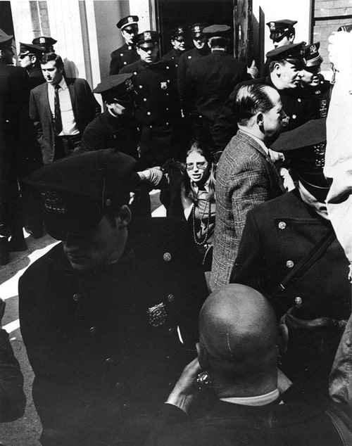 Robin Morgan - Activism - Grove Press Arrest, 1970